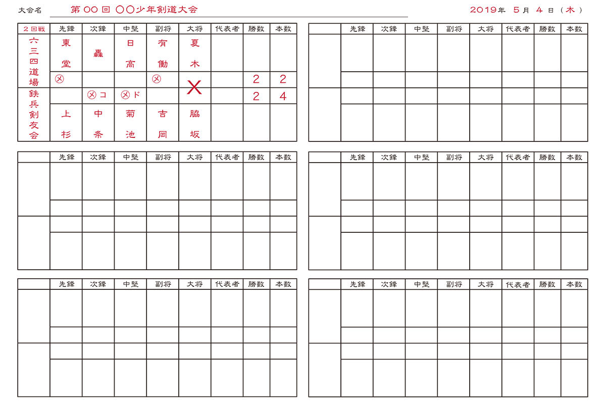 Kendo Score