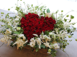 Heart Rose Arrangement | ハートローズアレンジメント