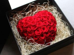 Preserved Flower Passion Heart | プリザーブドフラワー・パッションハート