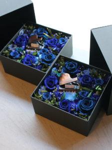 Preserved Flower Box Arrangement | プリザーブドフラワー・ボックスアレンジメント