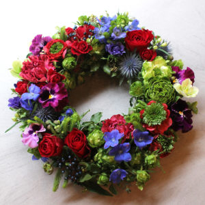 Flower Wreath   フラワーリース