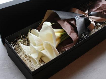 Calla Box Bouquet | カラー・ボックスブーケ