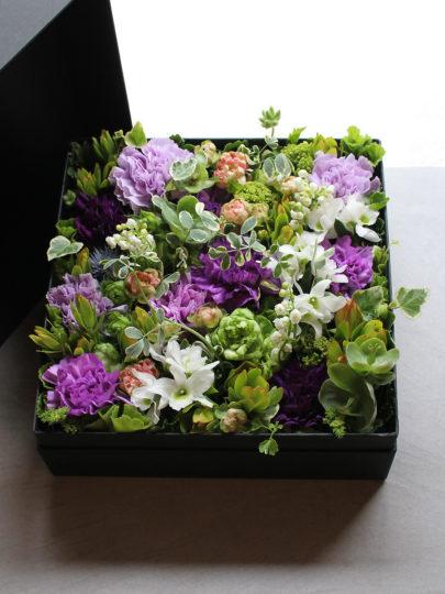 Box Flower Arrangement | ボックスフラワーアレンジメント